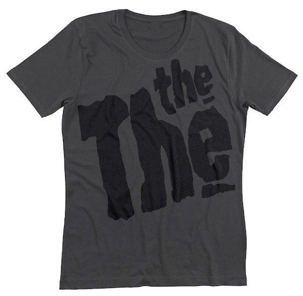 5b52d12e572 Grey THE THE Logo T-Shirt