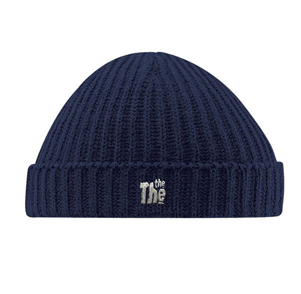 Navy Blue THE THE BEanie, Hat, shop, online, matt johnson, the the