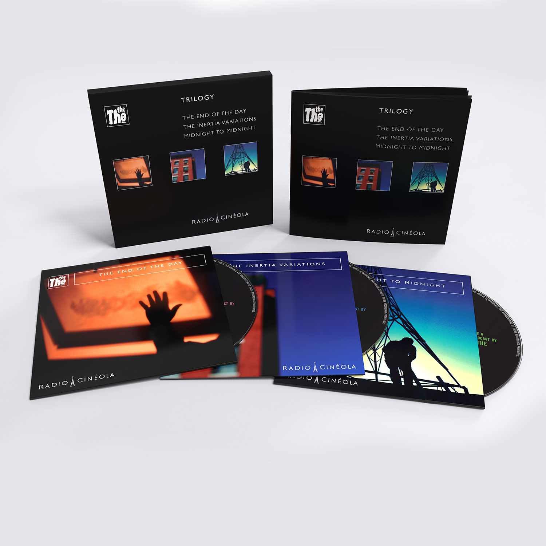 Trilogy CD Boxset, standard edition, the the, matt johnson, radio cineola