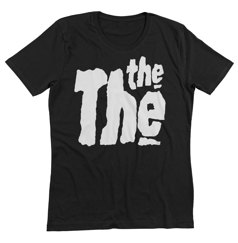 Black t shirt logo - Black The The Logo T Shirt 0