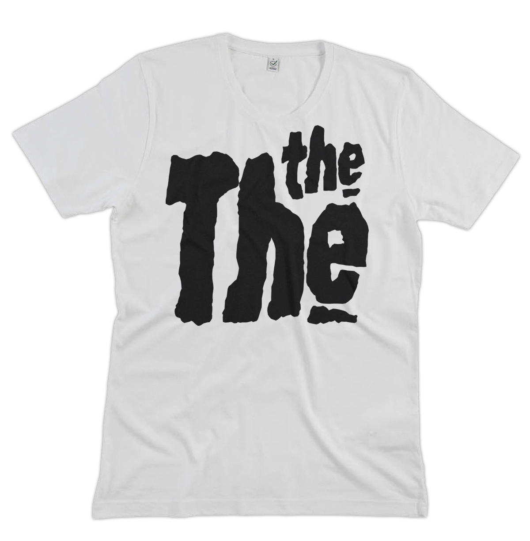 White, Tee, fan, logo, THE THE, Logo, White T-shirt