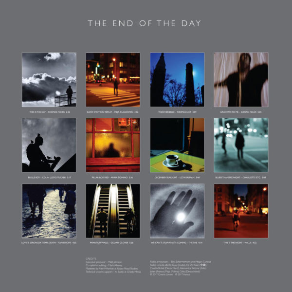 The End of The Day inner page deluxe CD